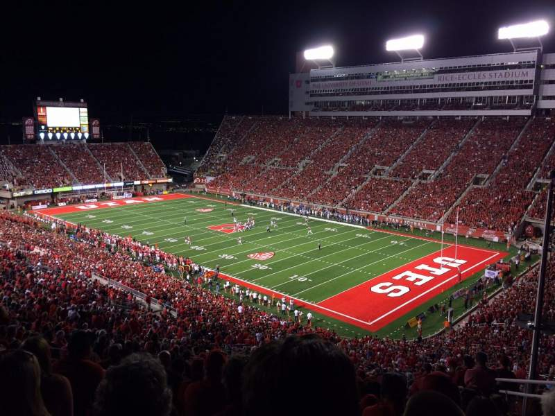 Seating view for Rice-Eccles Stadium Section E30 Row 60 Seat 15