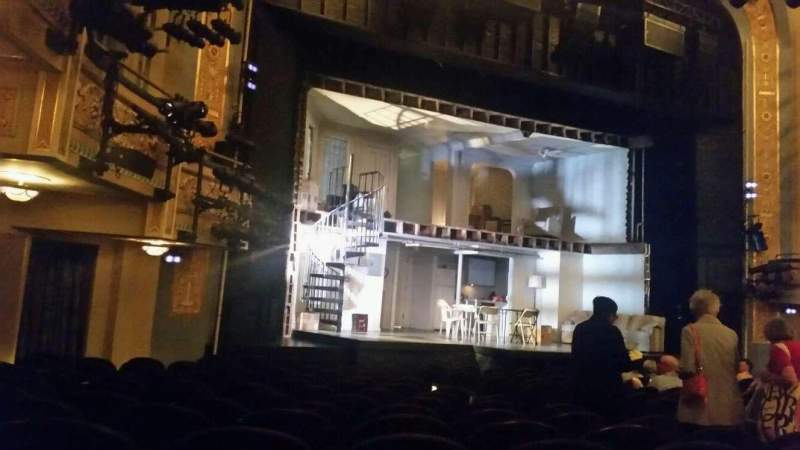 Seating view for Gerald Schoenfeld Theatre Section orch Row N Seat 15