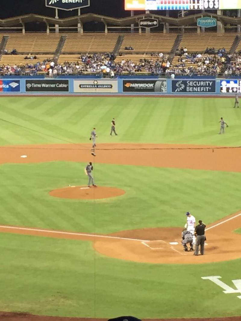 Seating view for Dodger Stadium Section 109LG Row s Seat 2