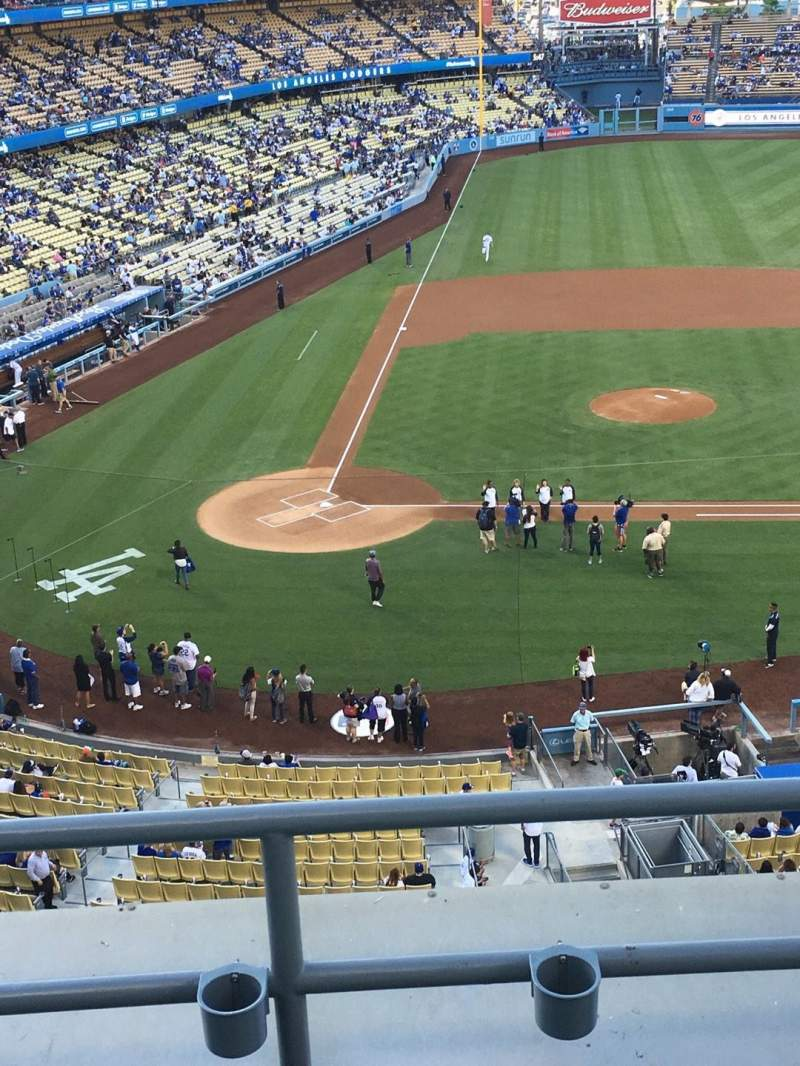 Seating view for Dodger Stadium Section RS10 Row C Seat 6