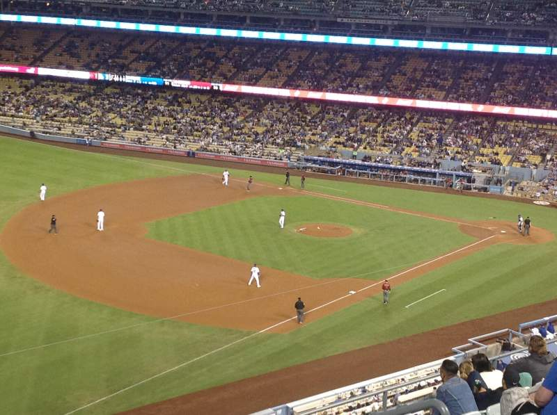 Seating view for Dodger Stadium Section 39RS Row K Seat 8