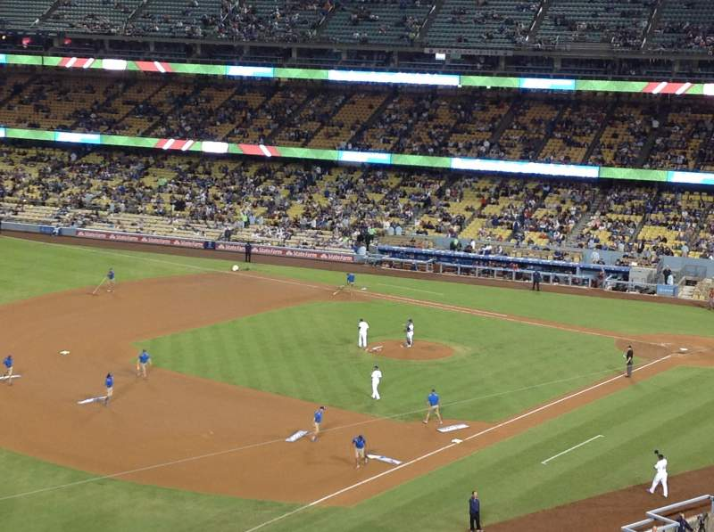 Seating view for Dodger Stadium Section 35RS Row C  Seat 22