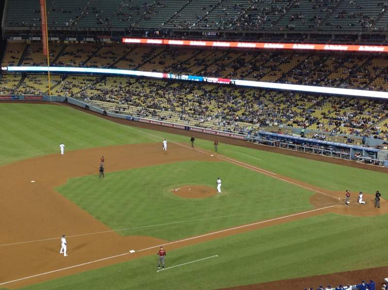 Seating view for Dodger Stadium Section 23RS Row D Seat 22