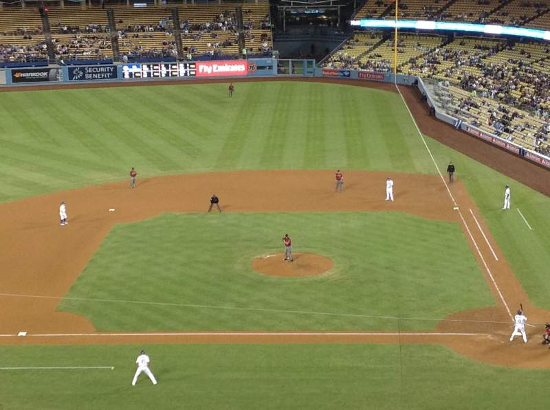 Seating view for Dodger Stadium Section 11RS Row G Seat 8