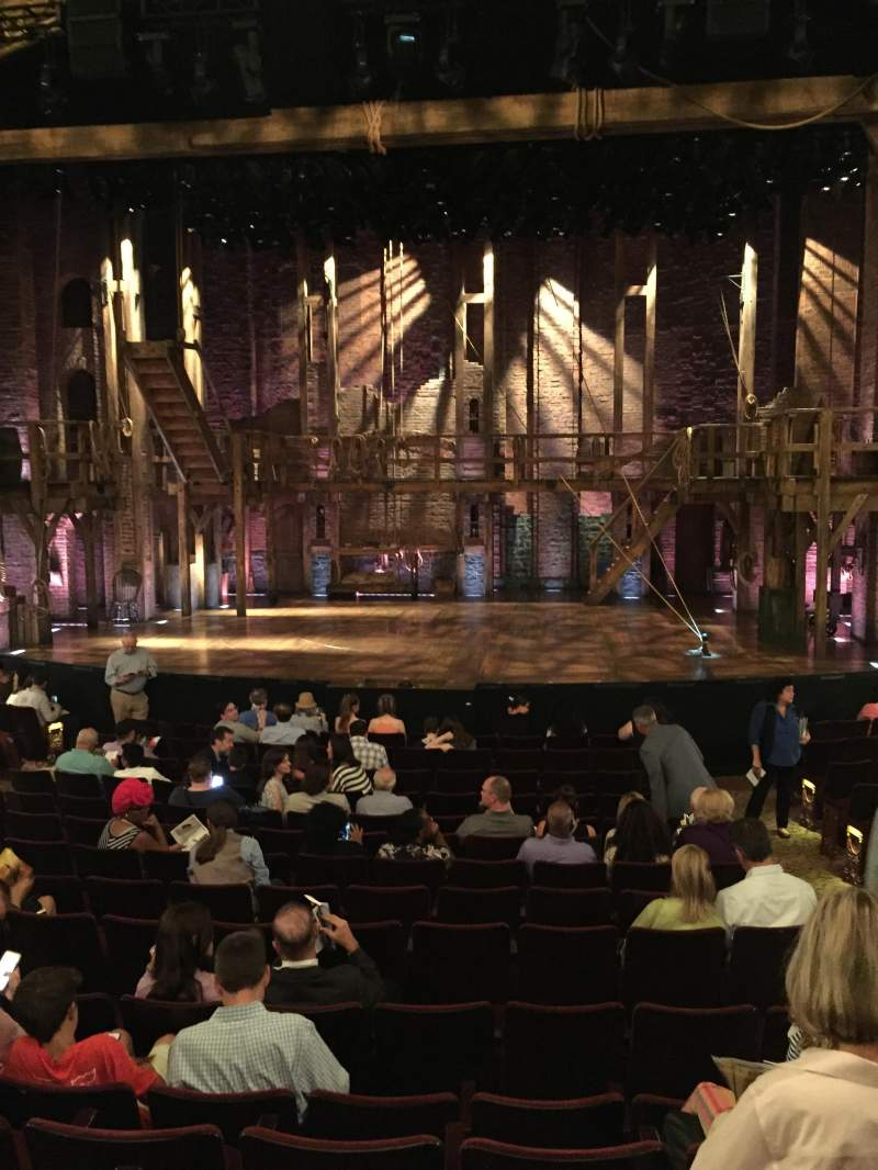 Seating view for Richard Rodgers Theatre Section Orchestra Center Row O Seat 103
