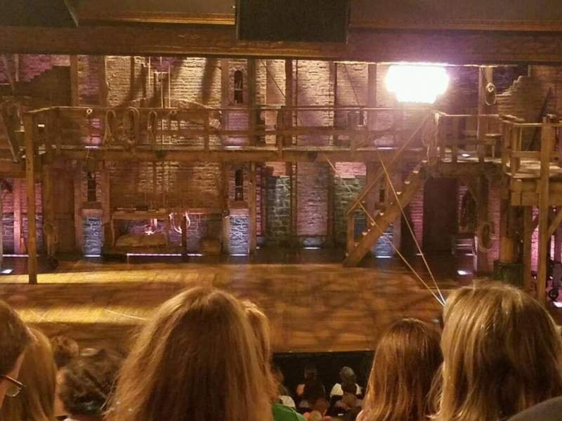 Seating view for Richard Rodgers Theatre Section Center Orchestra Row W Seat 103