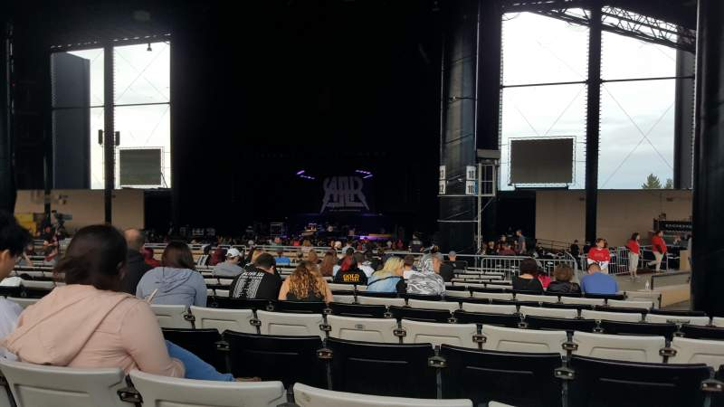 Seating view for Hollywood Casino Amphitheatre (Tinley Park) Section 204 Row BBB Seat 12