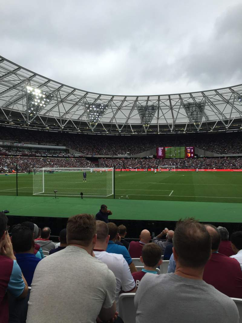 Seating view for London Stadium Section 125 Row 9