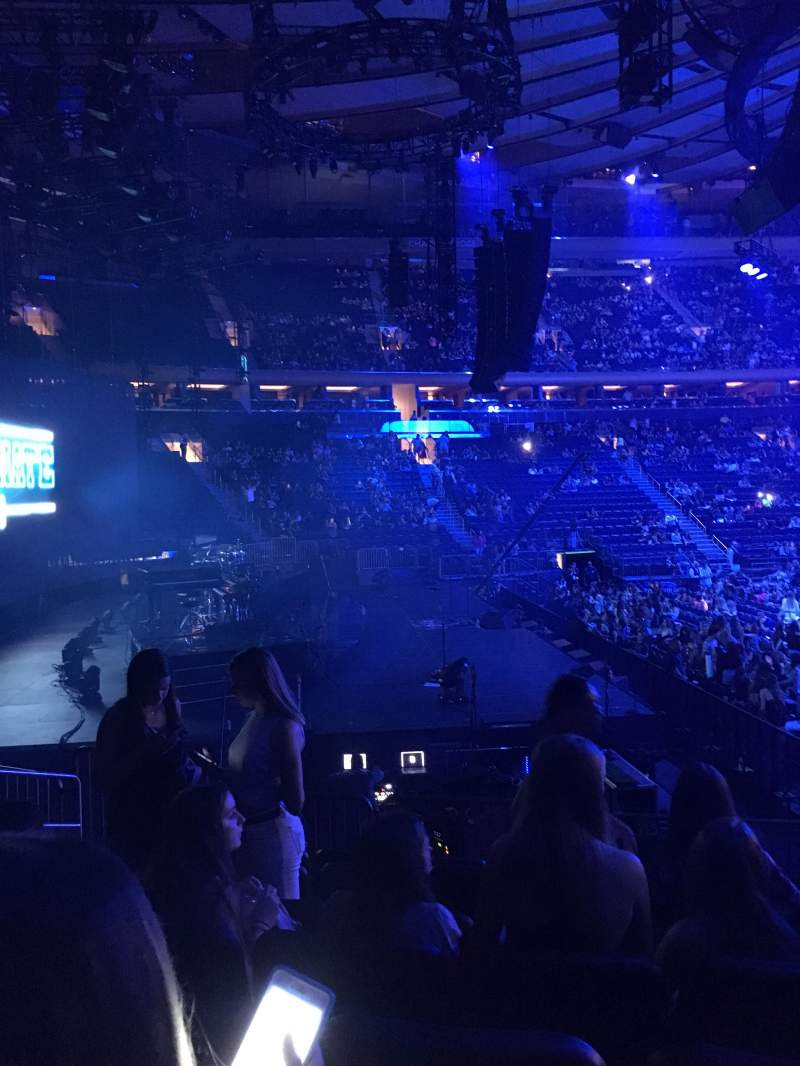 Seating view for Madison Square Garden Section 115 Row 10 Seat 7