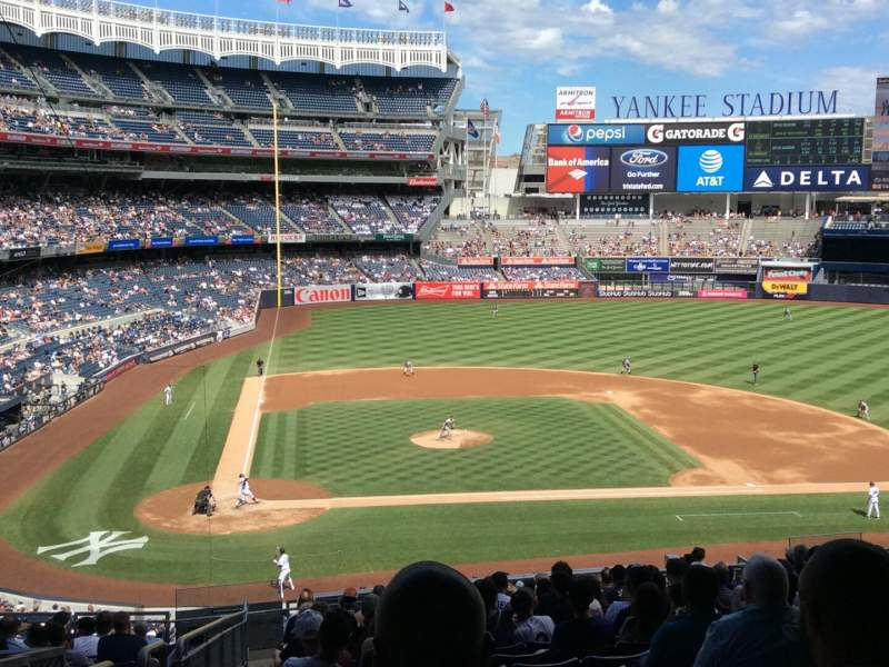 Seating view for Yankee Stadium Section 217 Row 19 Seat 20
