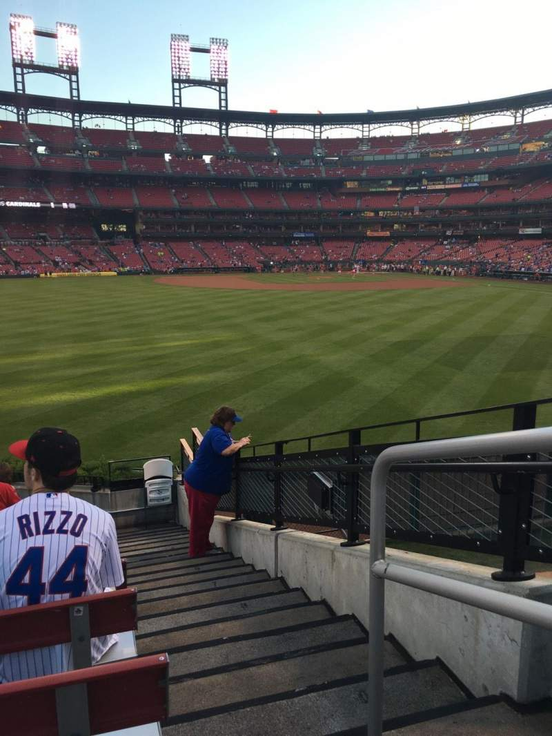Seating view for Busch Stadium Section 193 Row 12 Seat 1
