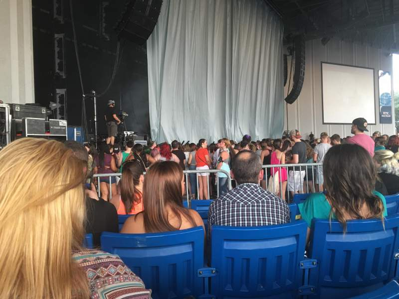 Seating view for PNC Music Pavilion Section 3 Row M Seat 19-20