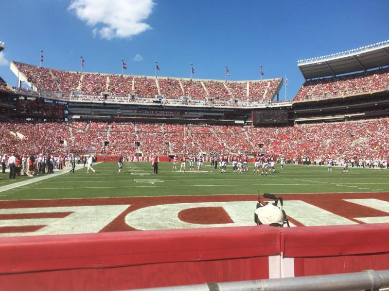 Seating view for Bryant-Denny Stadium Section South field suite Row 1 Seat 28