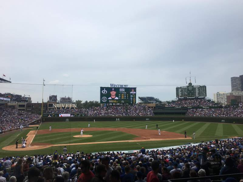Seating view for Wrigley Field Section 226 Row 5 Seat 3