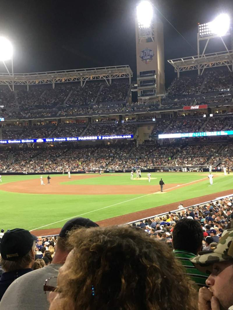 Seating view for PETCO Park Section 122 Row 30