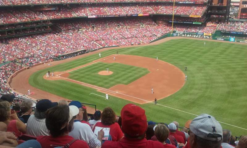 Seating view for Busch Stadium Section 339 Row 9 Seat 8