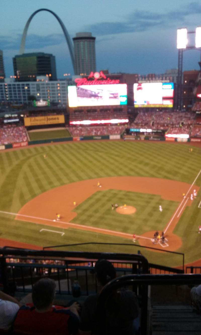 Seating view for Busch Stadium Section 452 Row 9 Seat 22
