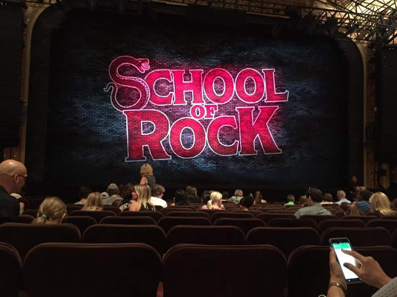 Seating view for Winter Garden Theatre Section Orchestra Center Row N Seat 115
