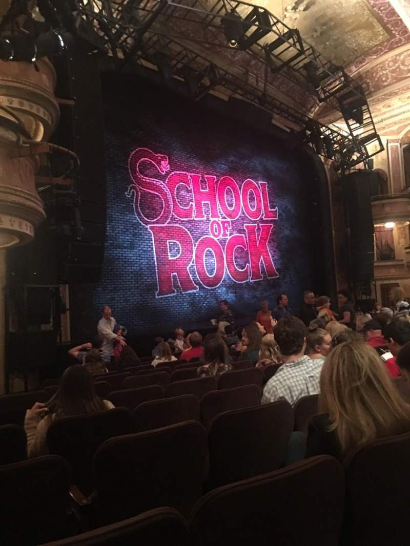 Seating view for Winter Garden Theatre Section Orchestra Row L Seat 31
