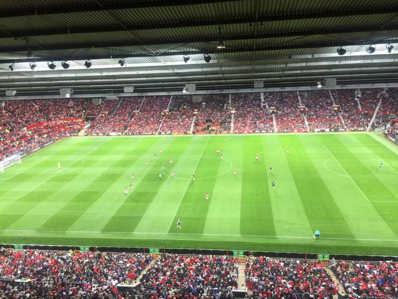 Seating view for Old Trafford Section N4405 Row 1 Seat 94