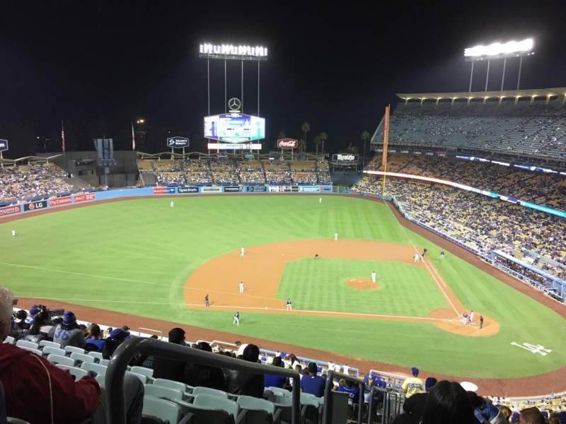 Seating view for Dodger Stadium Section 11RS Row U Seat 24