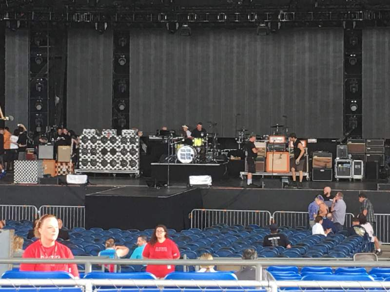 Seating view for MidFlorida Credit Union Amphitheatre Section 9 Row K Seat 58