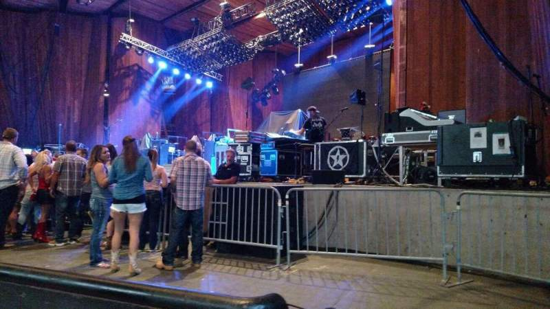 Blossom Music Center, section: 12, row: 1, seat: 13
