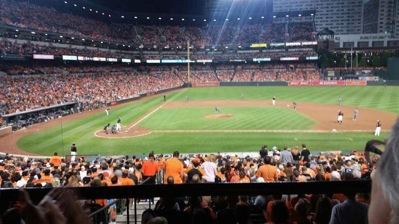 Seating view for Oriole Park at Camden Yards Section 23 Row 2 Seat 17