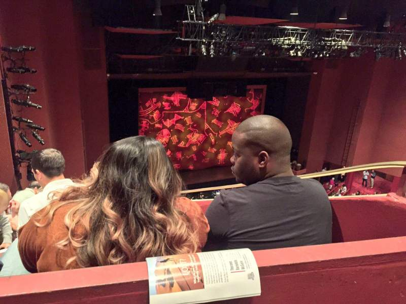 Seating view for San Diego Civic Theatre Section Balcony Row O Seat 43