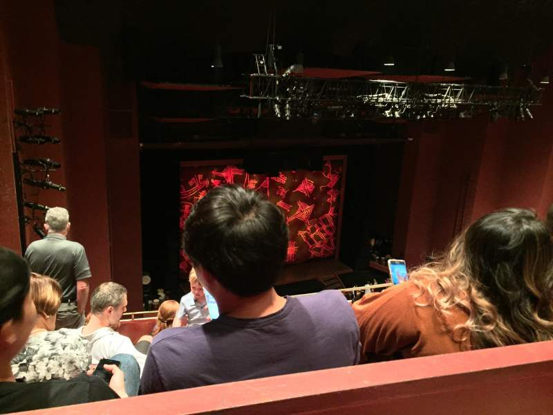 Seating view for San Diego Civic Theatre Section Balcony Row O Seat 45
