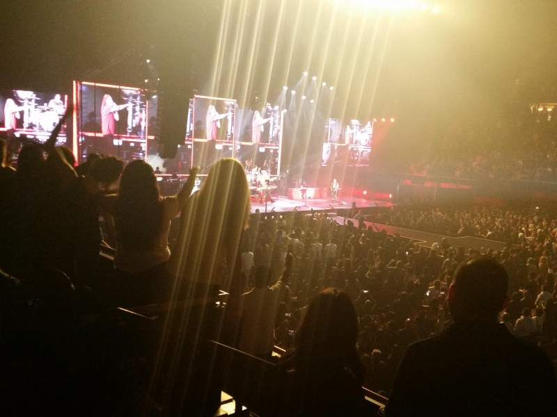 The Forum, section: 128, row: 6, seat: 5