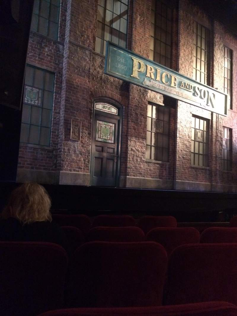 Seating view for Al Hirschfeld Theatre Section ORCHL Row E Seat 11