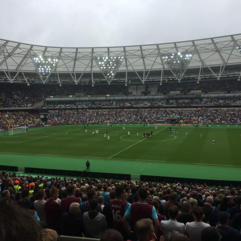 Seating view for London Stadium