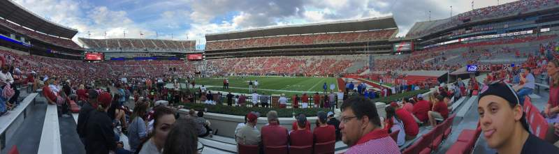 Seating view for Bryant-Denny Stadium Section C Row 7 Seat 7