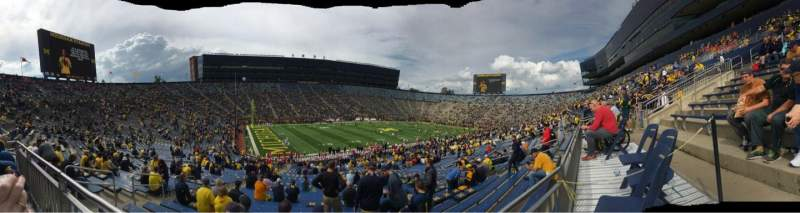 Seating view for Michigan Stadium Section 6