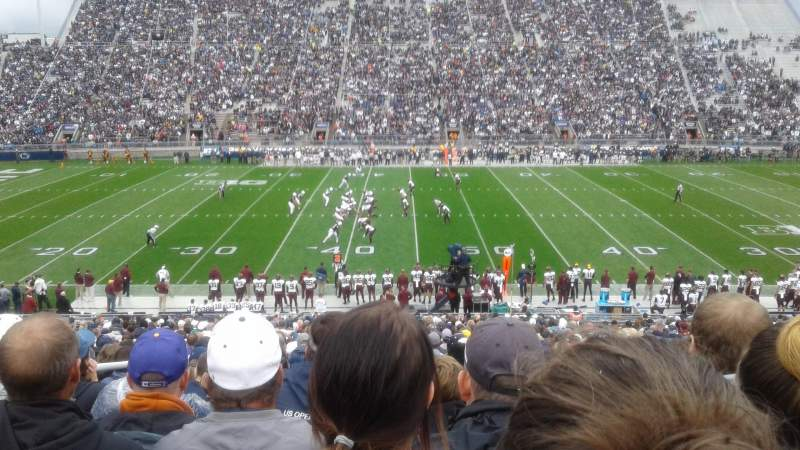 Seating view for Beaver Stadium Section WE Row 29 Seat 24