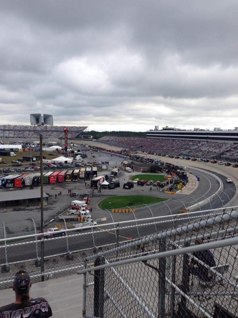 Seating view for Dover International Speedway Section 137 Row 36 Seat 2