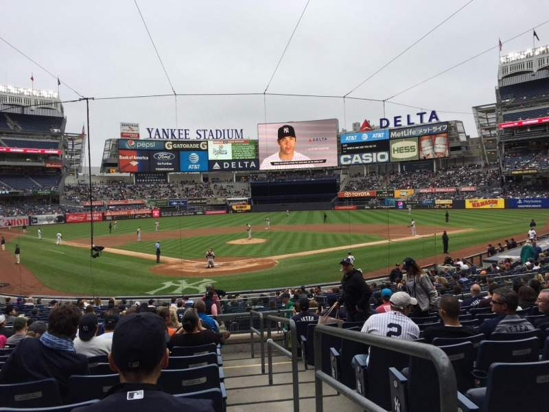 Seating view for Yankee Stadium Section 120A Row 11 Seat /