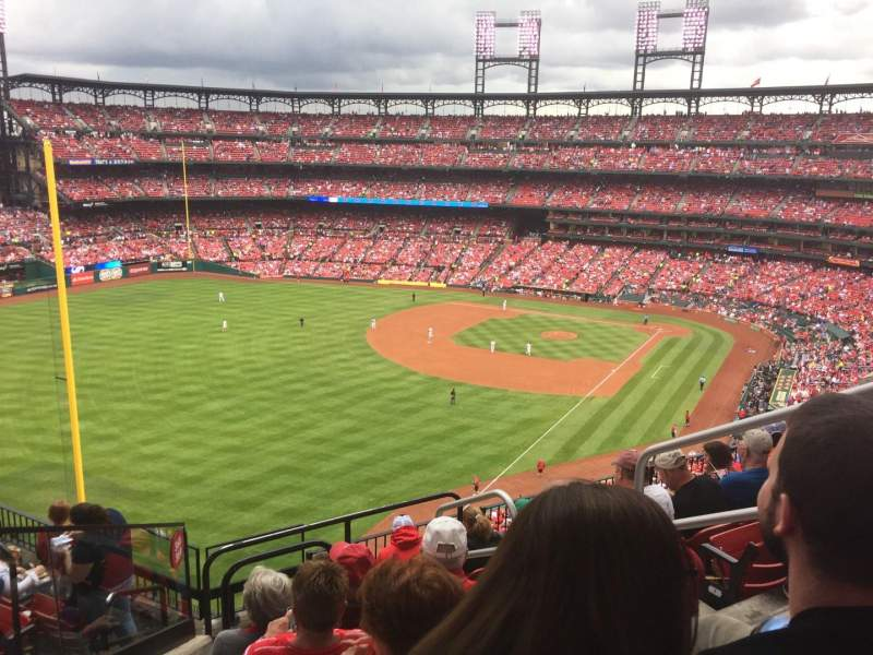Seating view for Busch Stadium Section 369 Row 8 Seat 4