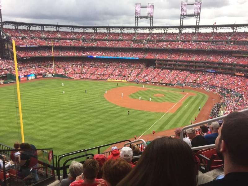 Busch Stadium, section: 369, row: 8, seat: 4