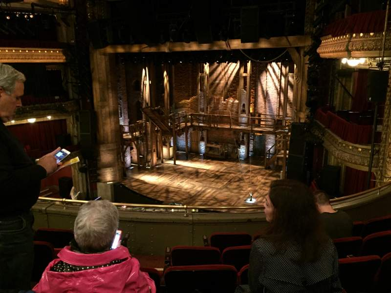 Seating view for CIBC Theatre Section Mezzanine R Row F Seat 10