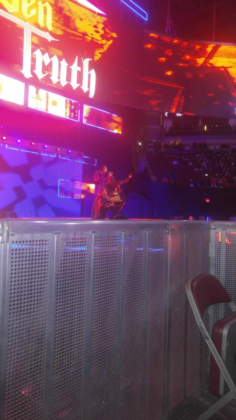Seating view for Toyota Center Section Floor J Row 10 Seat 8