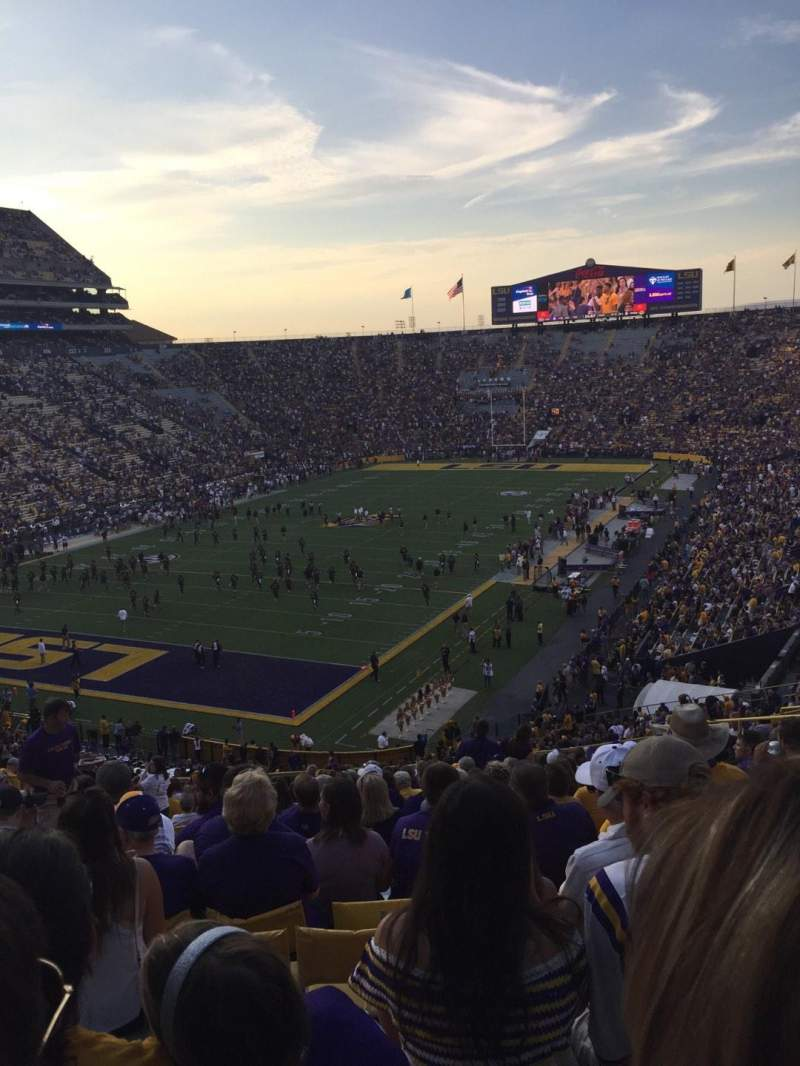 Seating view for Tiger Stadium Section 413 Row 27 Seat 21