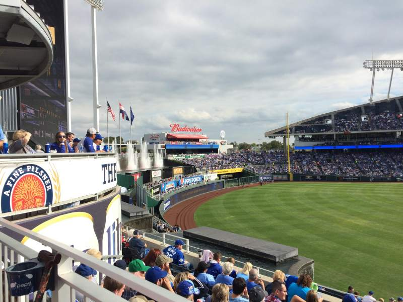 Seating view for Kauffman Stadium Section 202 Row HWC Seat 5