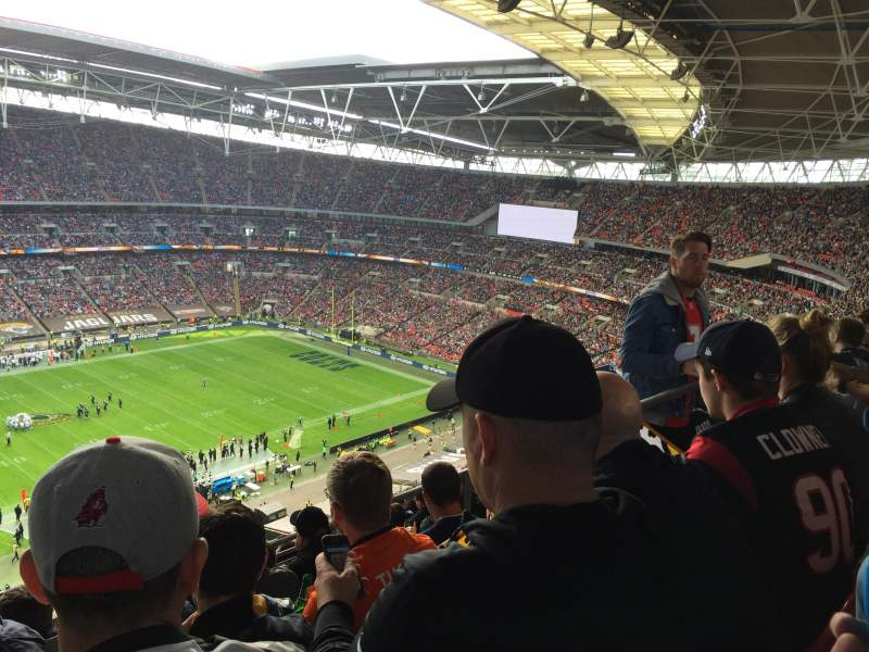 Seating view for Wembley Stadium Section 503 Row 24 Seat 81