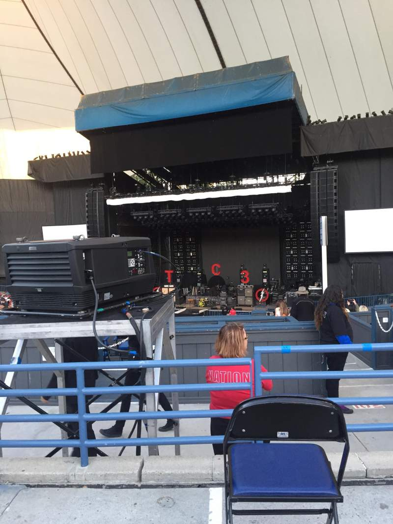 Seating view for Shoreline Amphitheatre