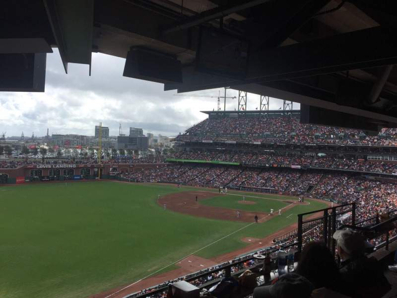 AT&T Park, section: Suite 62, row: A, seat: 3