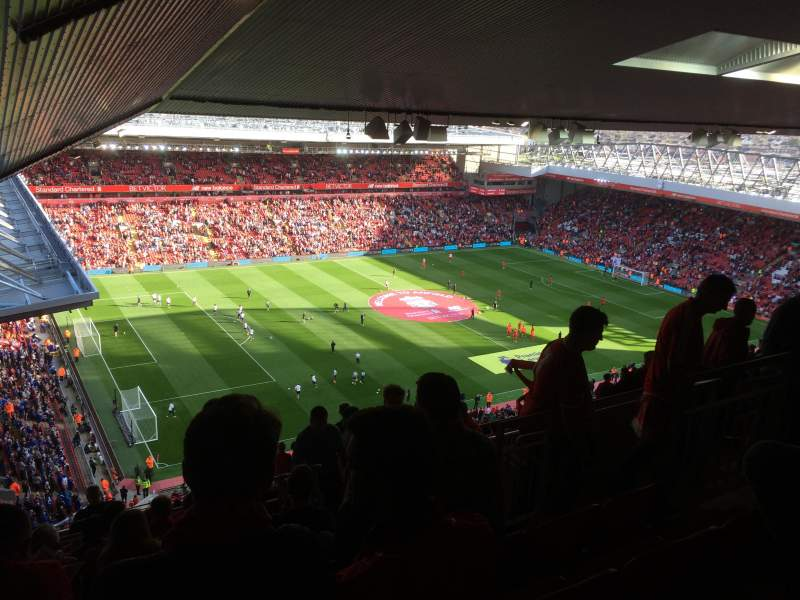 Seating view for Anfield Section U1 Row 75 Seat 11
