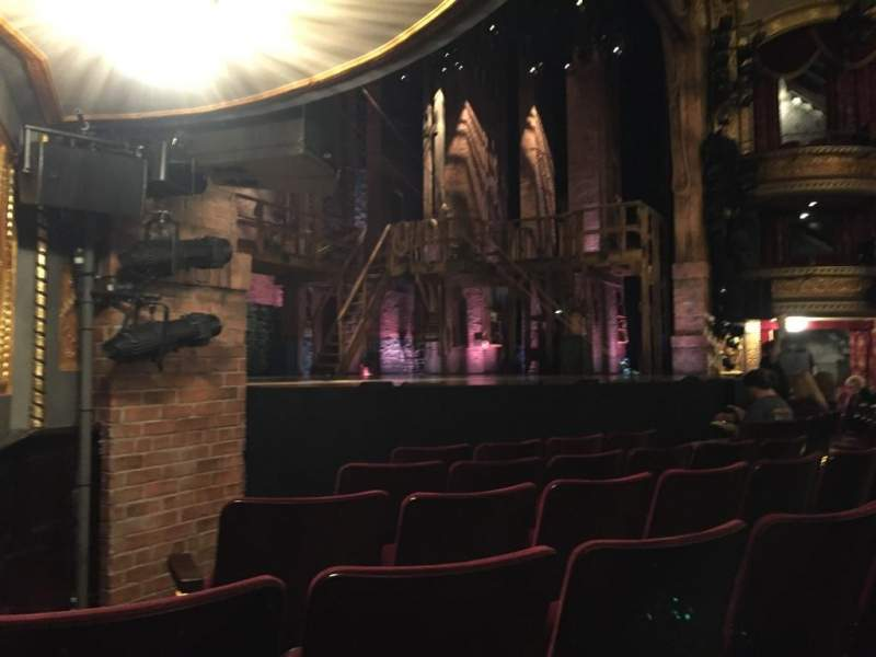 Seating view for Richard Rodgers Theatre Section Orchestra Row E Seat 23
