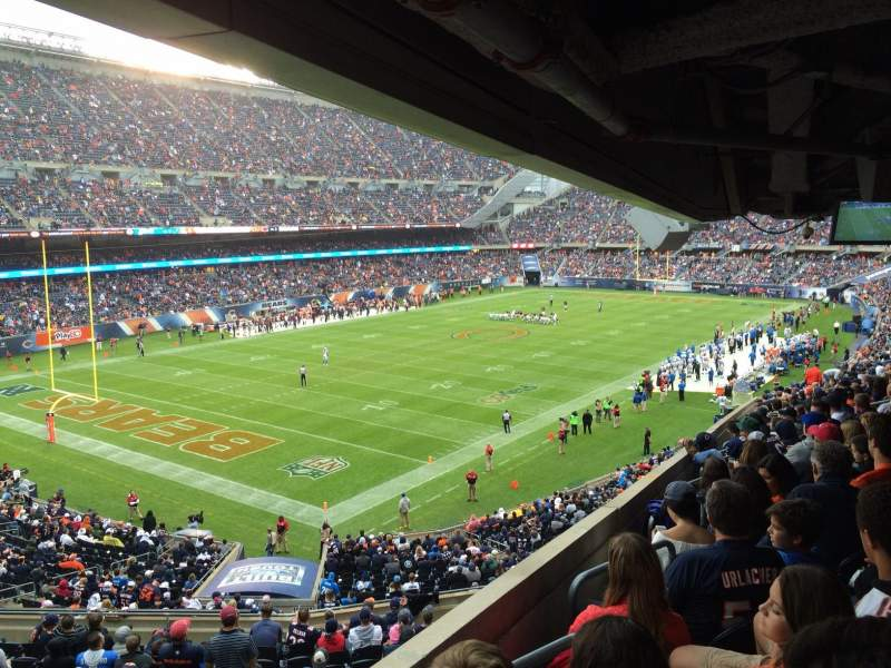 Soldier Field, section: 216, row: 19, seat: 1